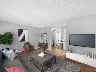 Apartment complex located near  I-25 in Denver, CO