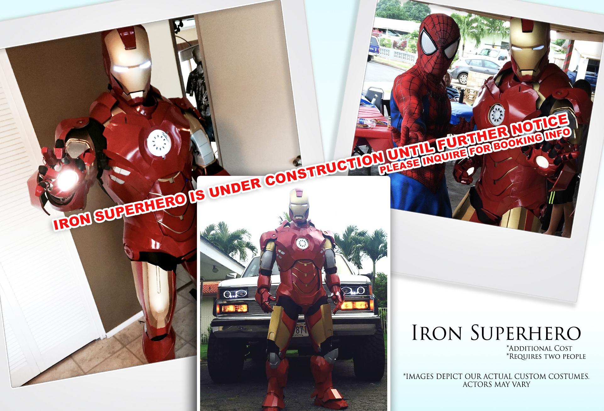 Iron Superhero (Under Construction)