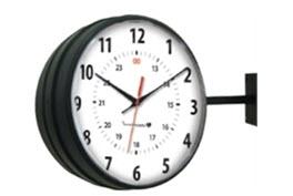Innovation Wireless Black Hanging Clock-1.jpg