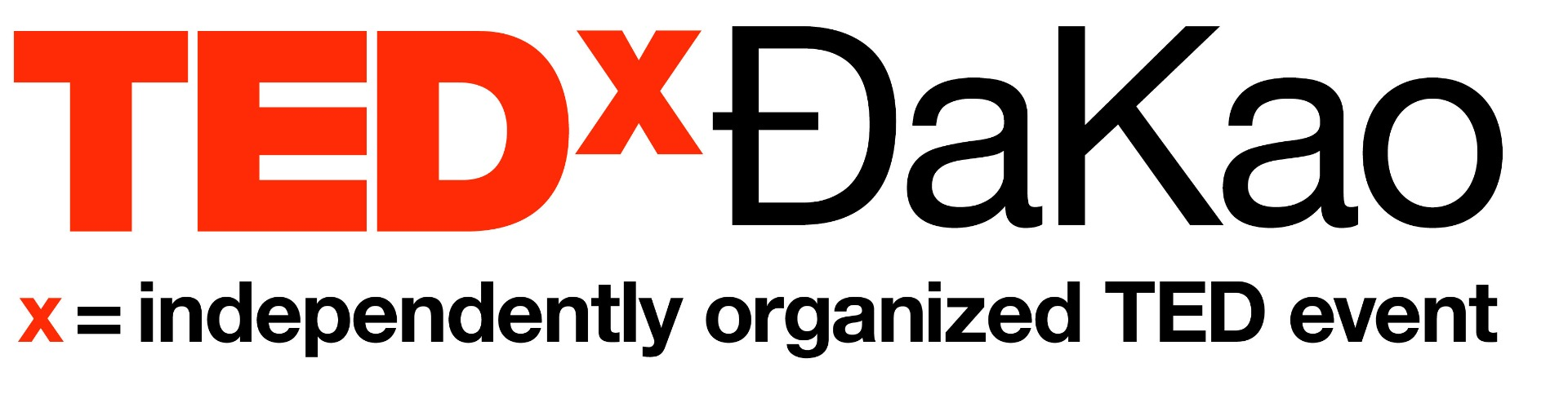 TEDxĐaKao Logo