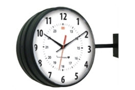 Innovation Wireless Black Hanging Clock-1.jpg