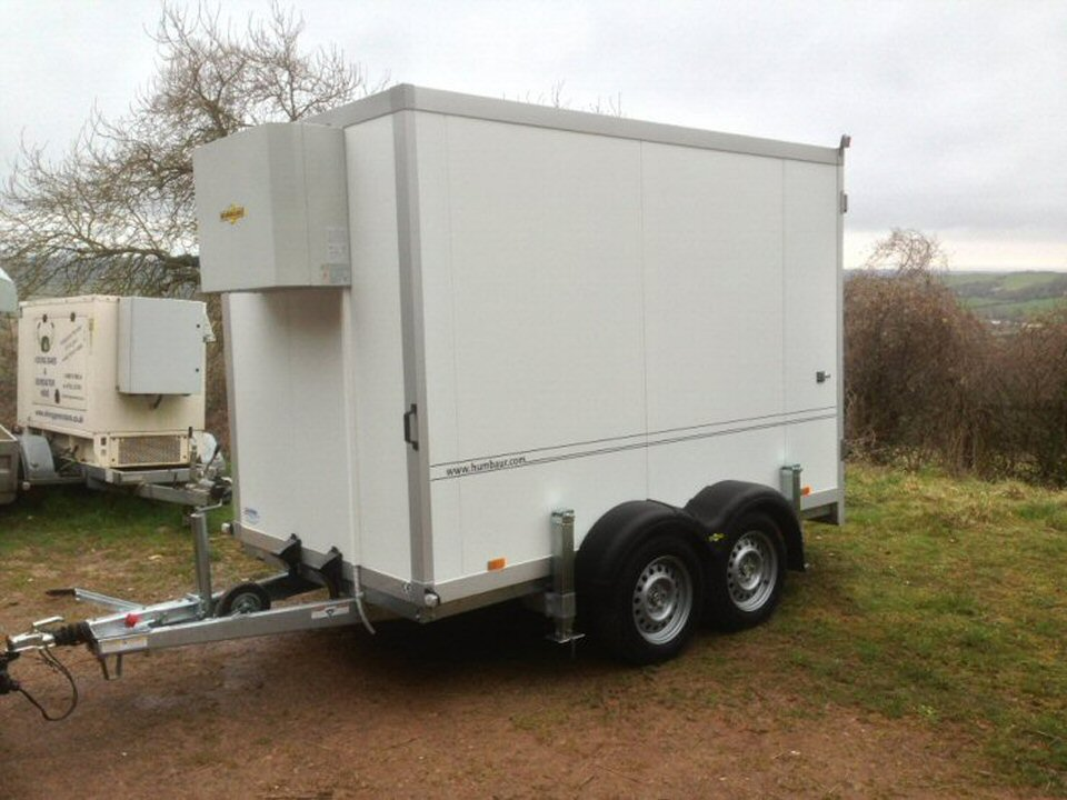 Cold trailer hire somerset