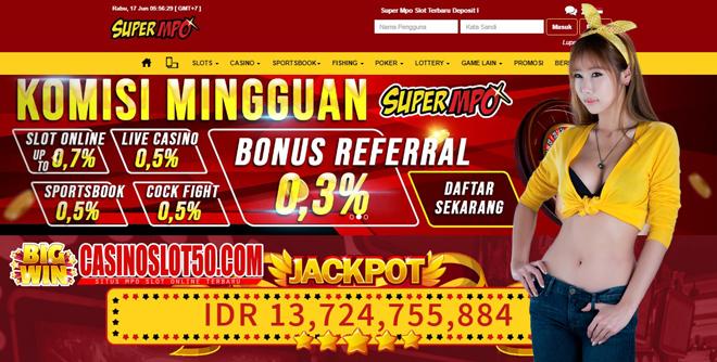 SuperMPO Agen Mpo Slot Online Terbaru dan Terpercaya 2020