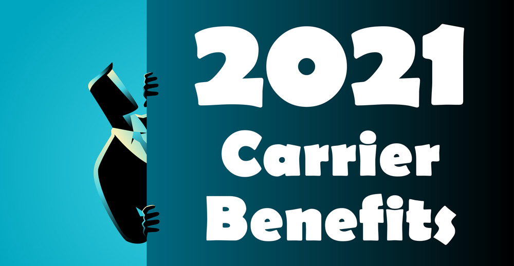 Western Marketing - 2021 Carrier Benefits Now Available