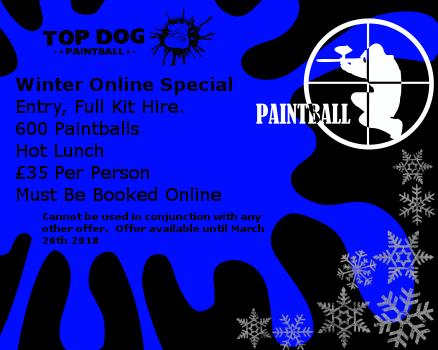 Autumn Online Special, £35 per person.