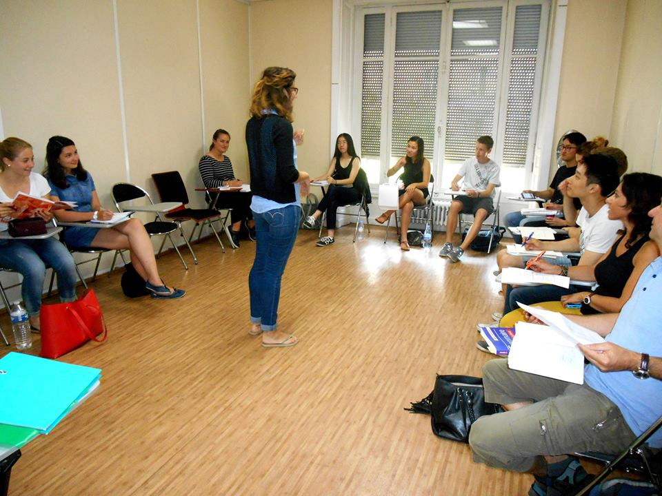 Students in the class