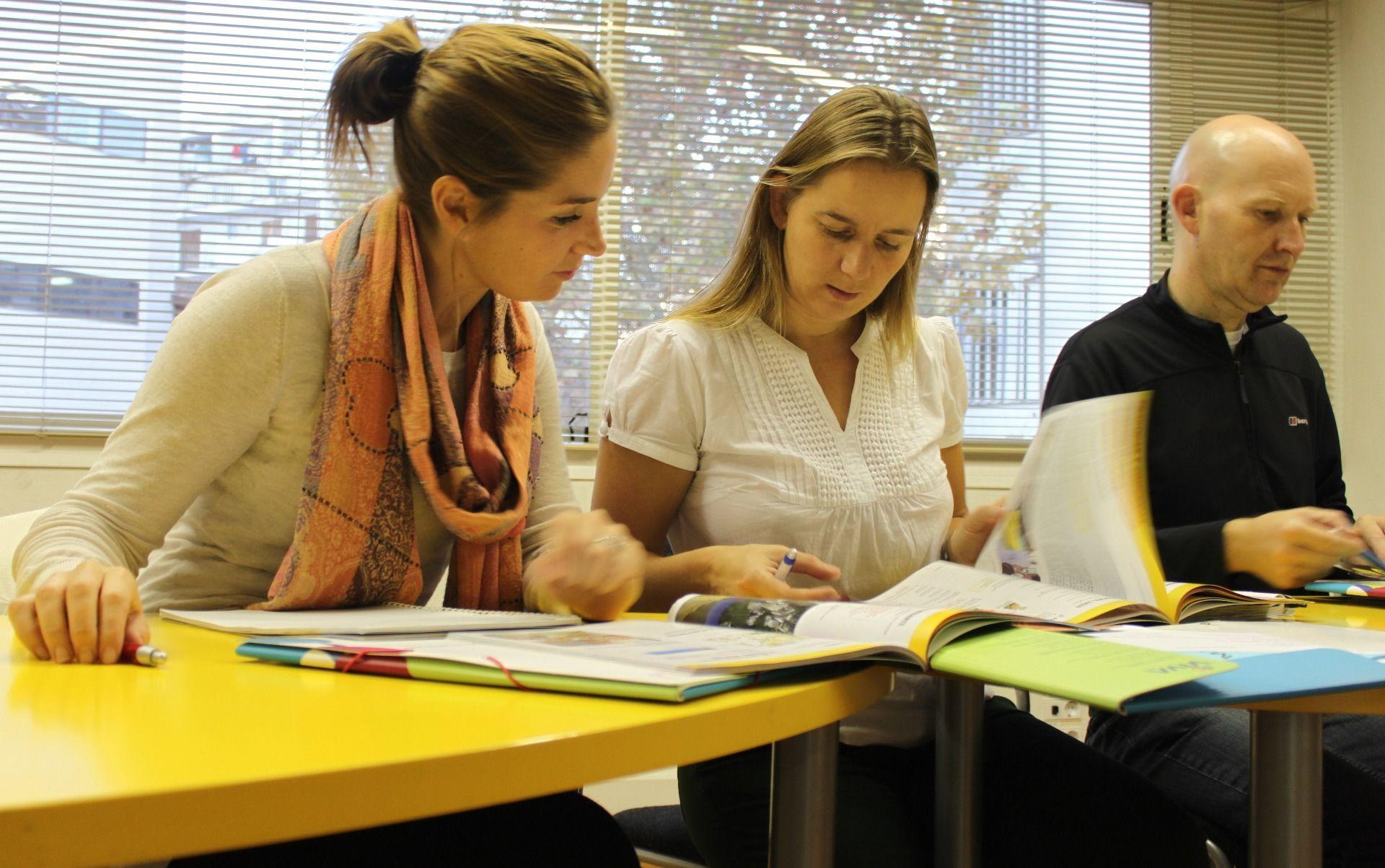 Spanish class, Palma