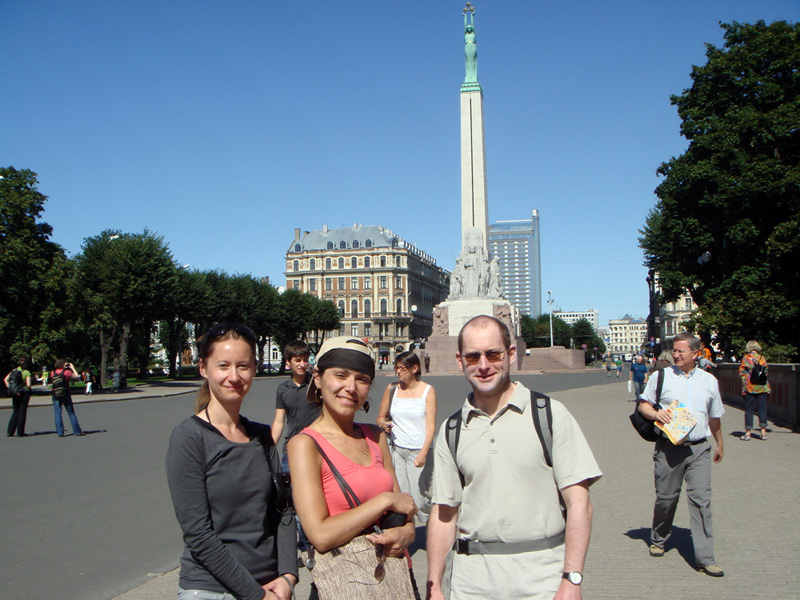 Walking tour in Riga