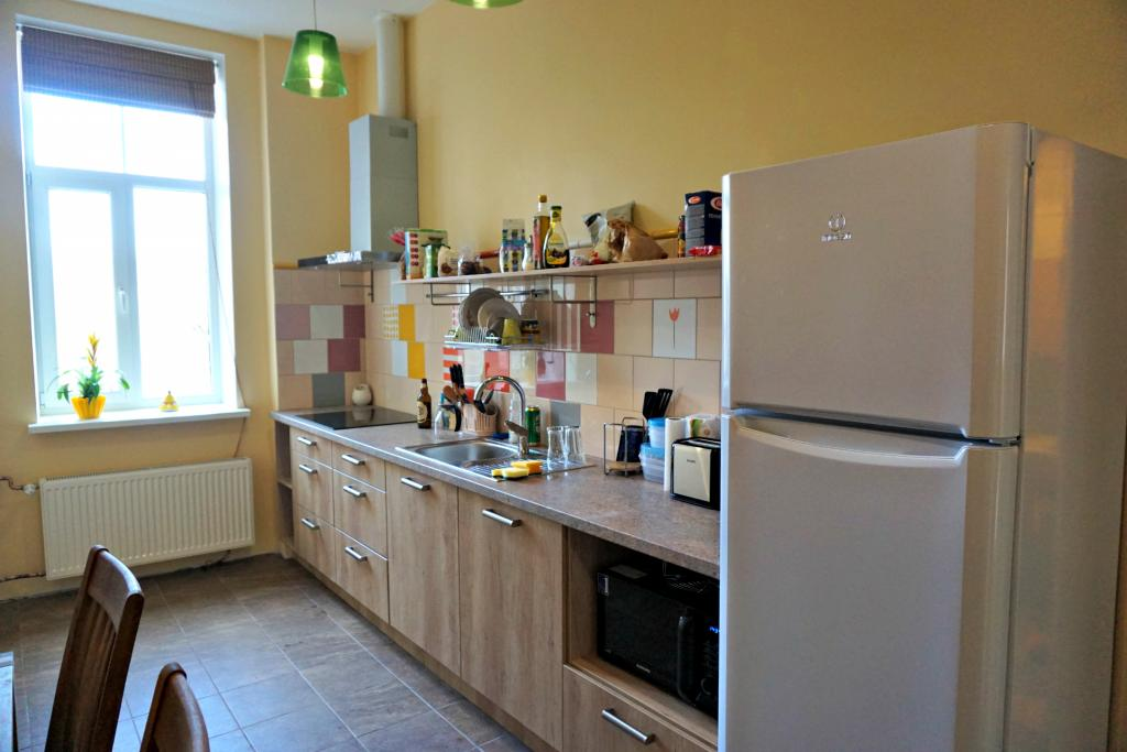 Shared flat, kitchen