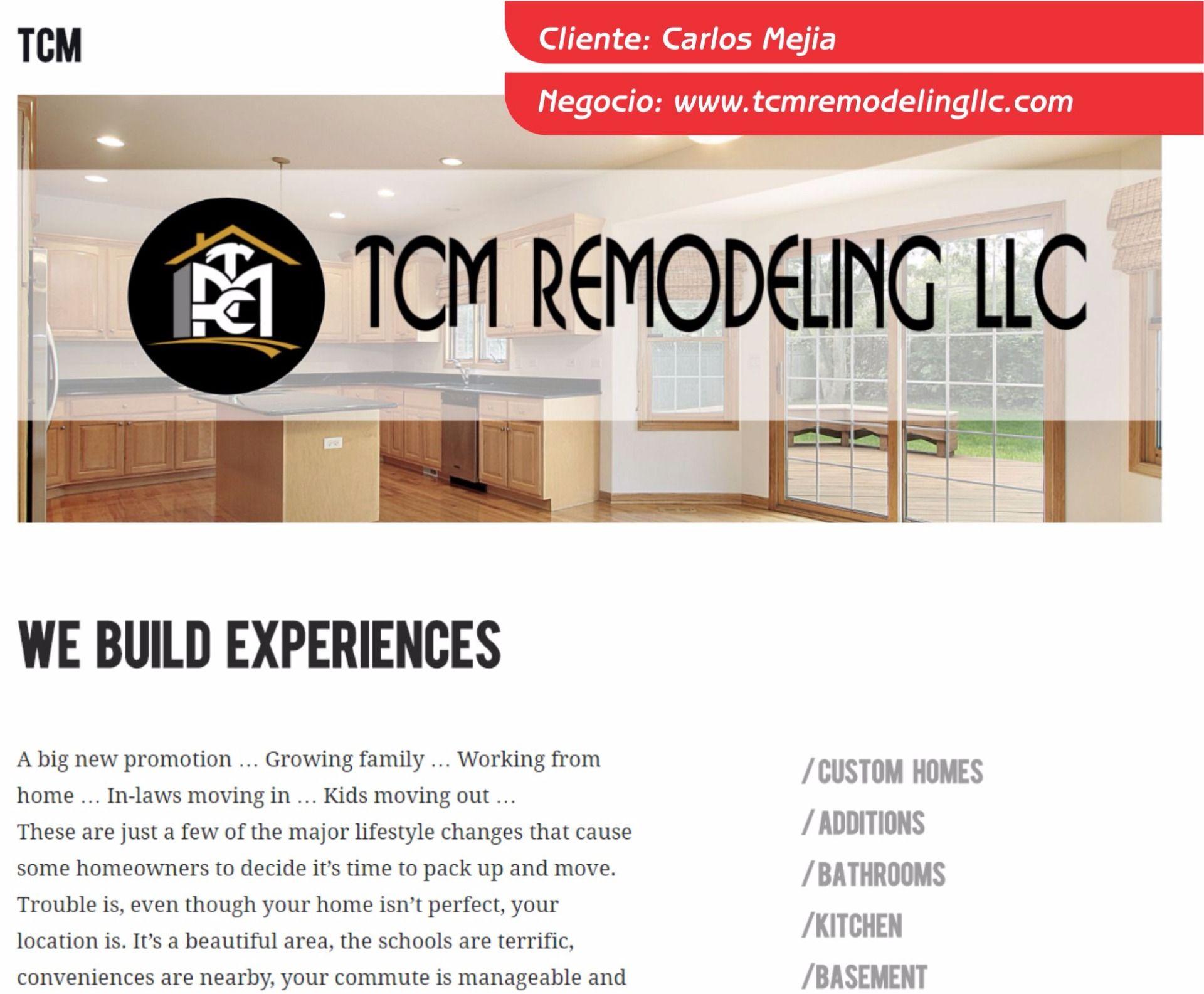TCM Remodeling