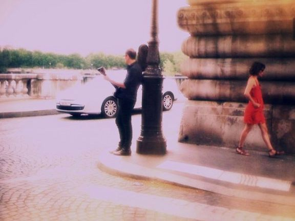 Jeff and Robi in Paris