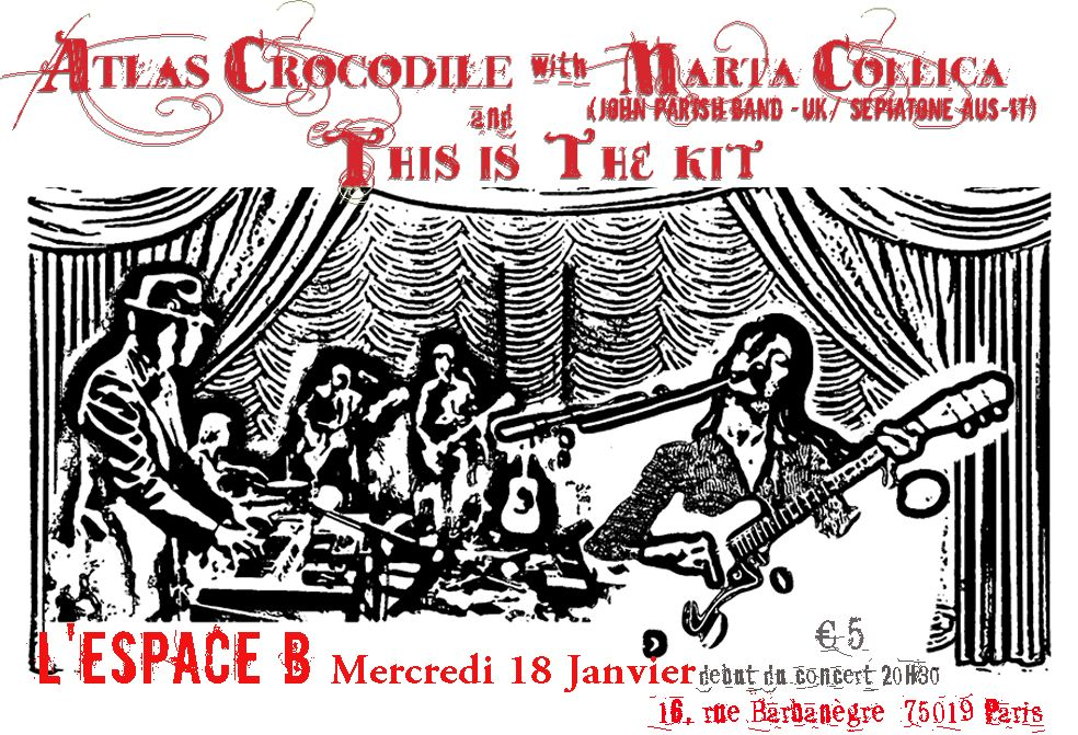 with Atlas Crocodile-flyer concert
