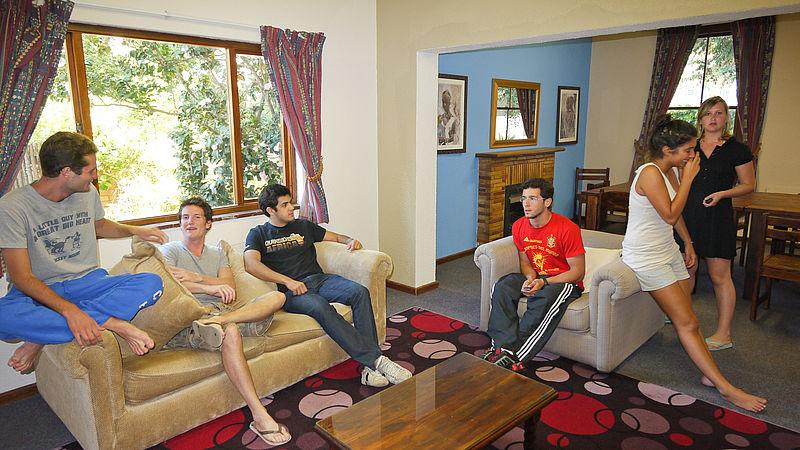 Student/Volunteer house
