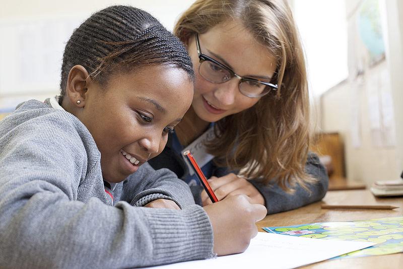 Volunteering in teaching centre