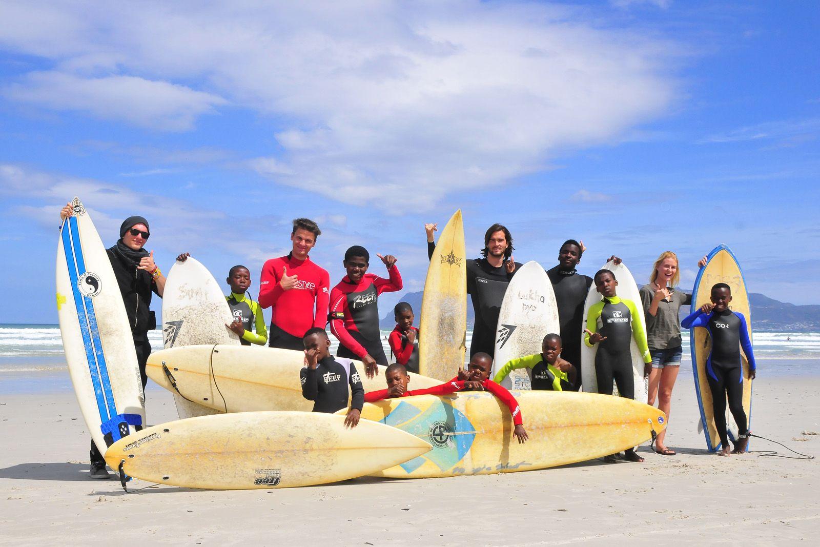 Surfing Smiles, volunteer project