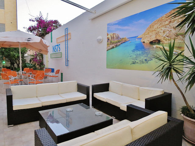 Terrace and lounge area