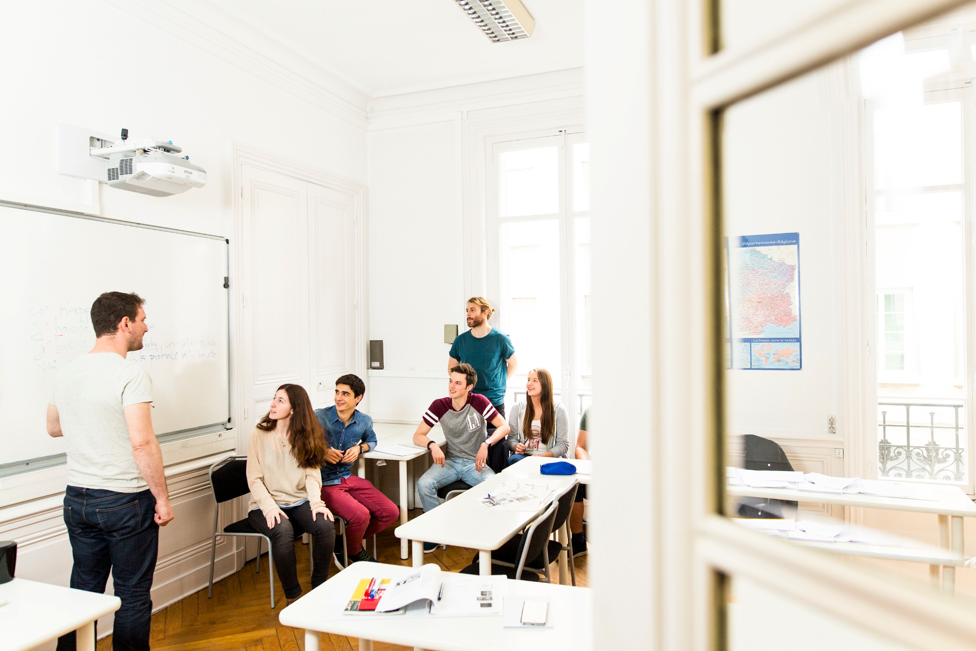 French language class