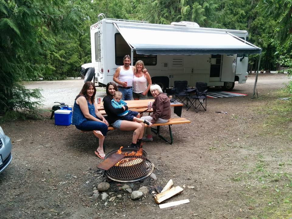 four generations camping