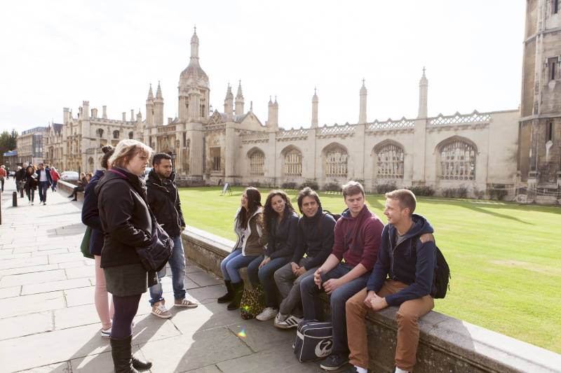 Students in Cambridge