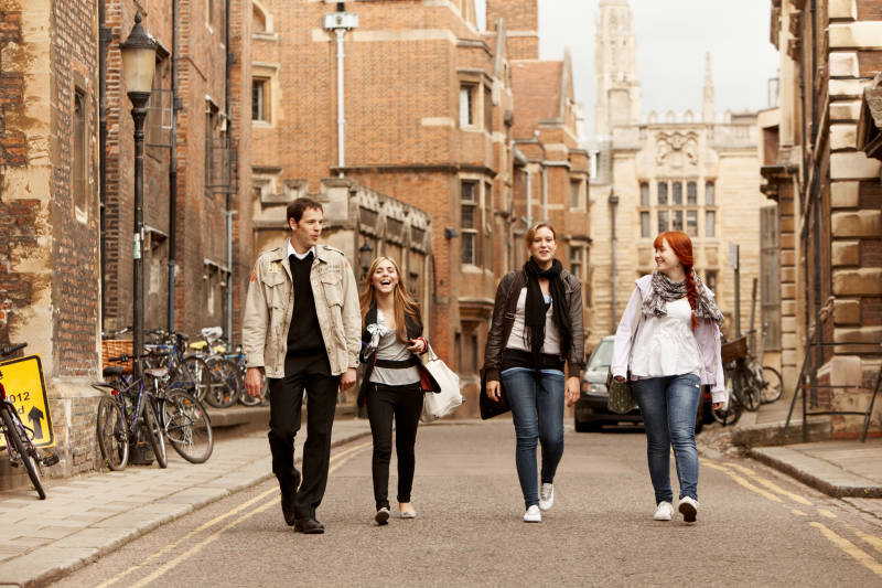 Students in city
