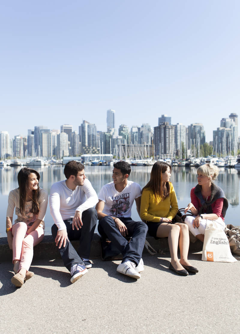 Students in Vancouver