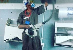 MAINTAINANCE OF INDUSTRIAL WASHERS(CLEANING)