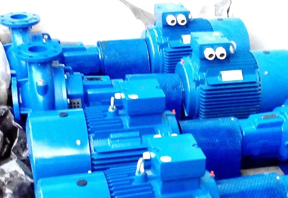 PUMP INSTALLATION FOR CHILLERS