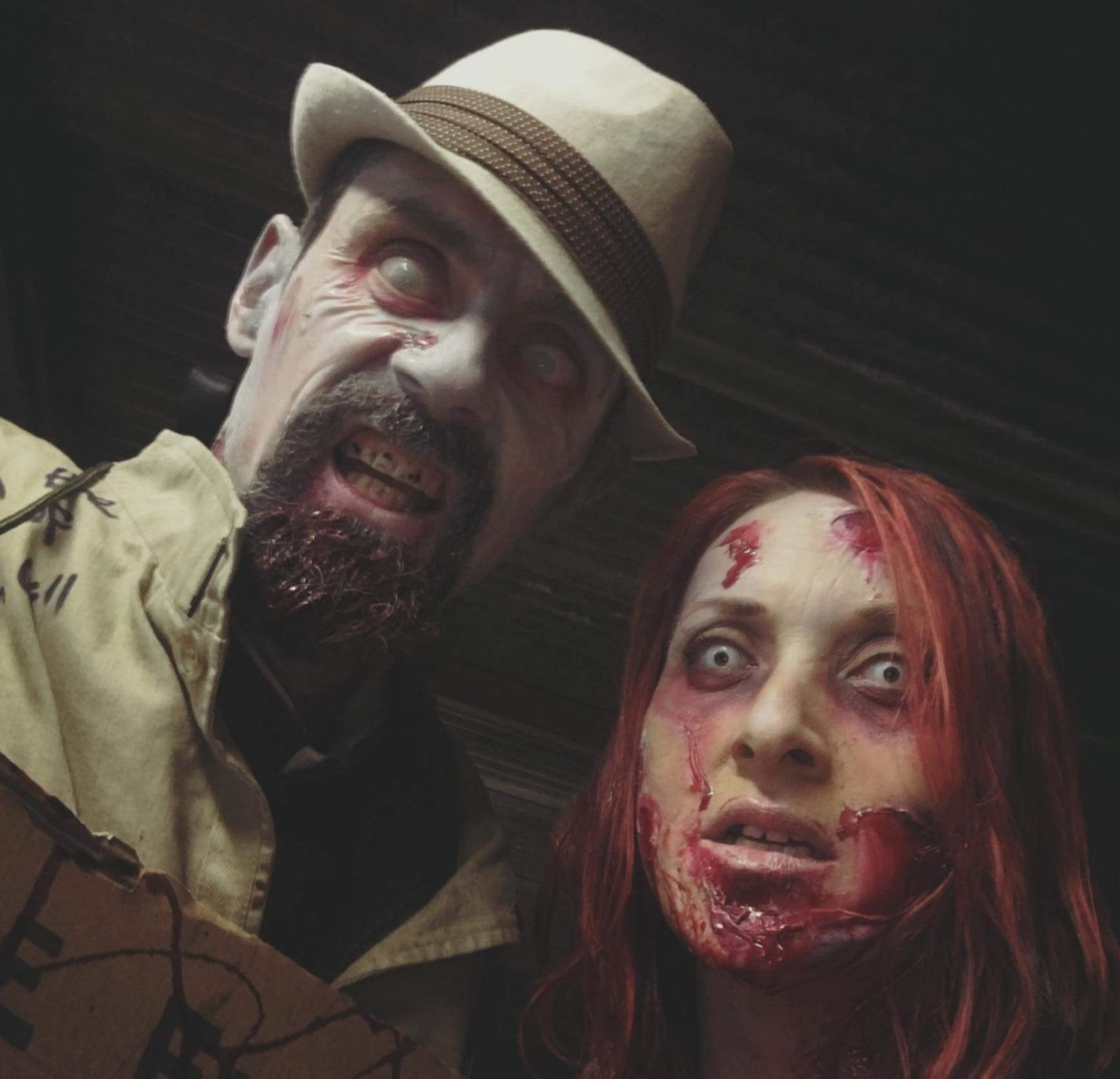 2 of our amazing zombies