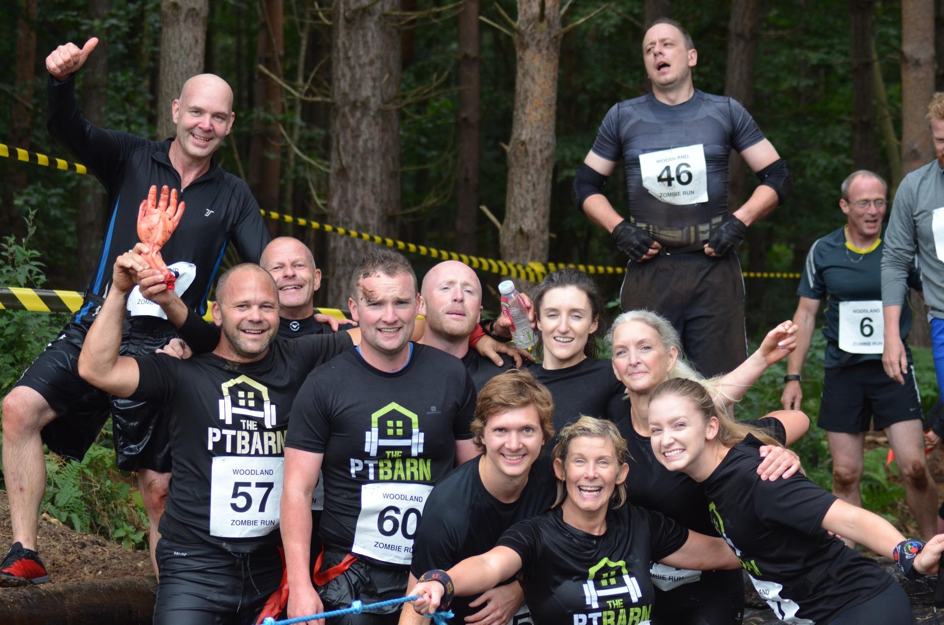 The PT Barn Running Team
