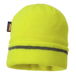 B023 KNITTED HAT REFLECTION TRIM