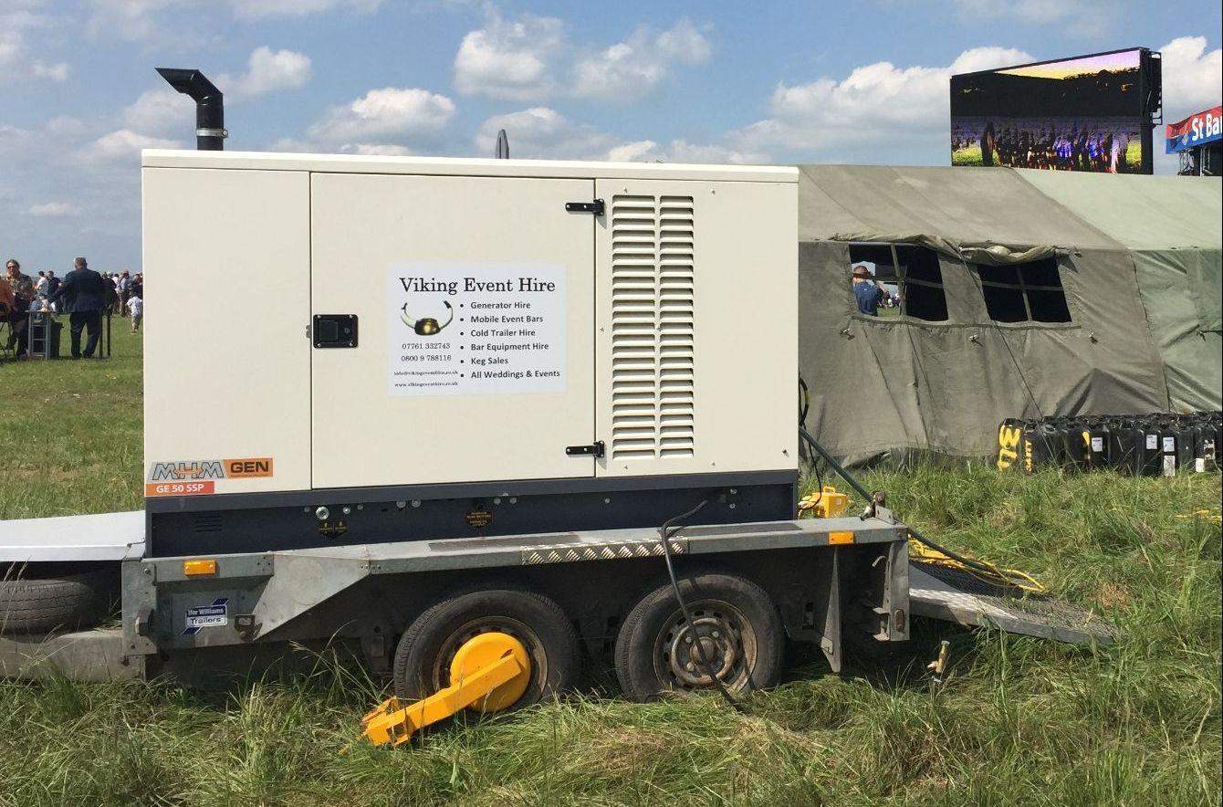 50 kva Generator Hire Somerset