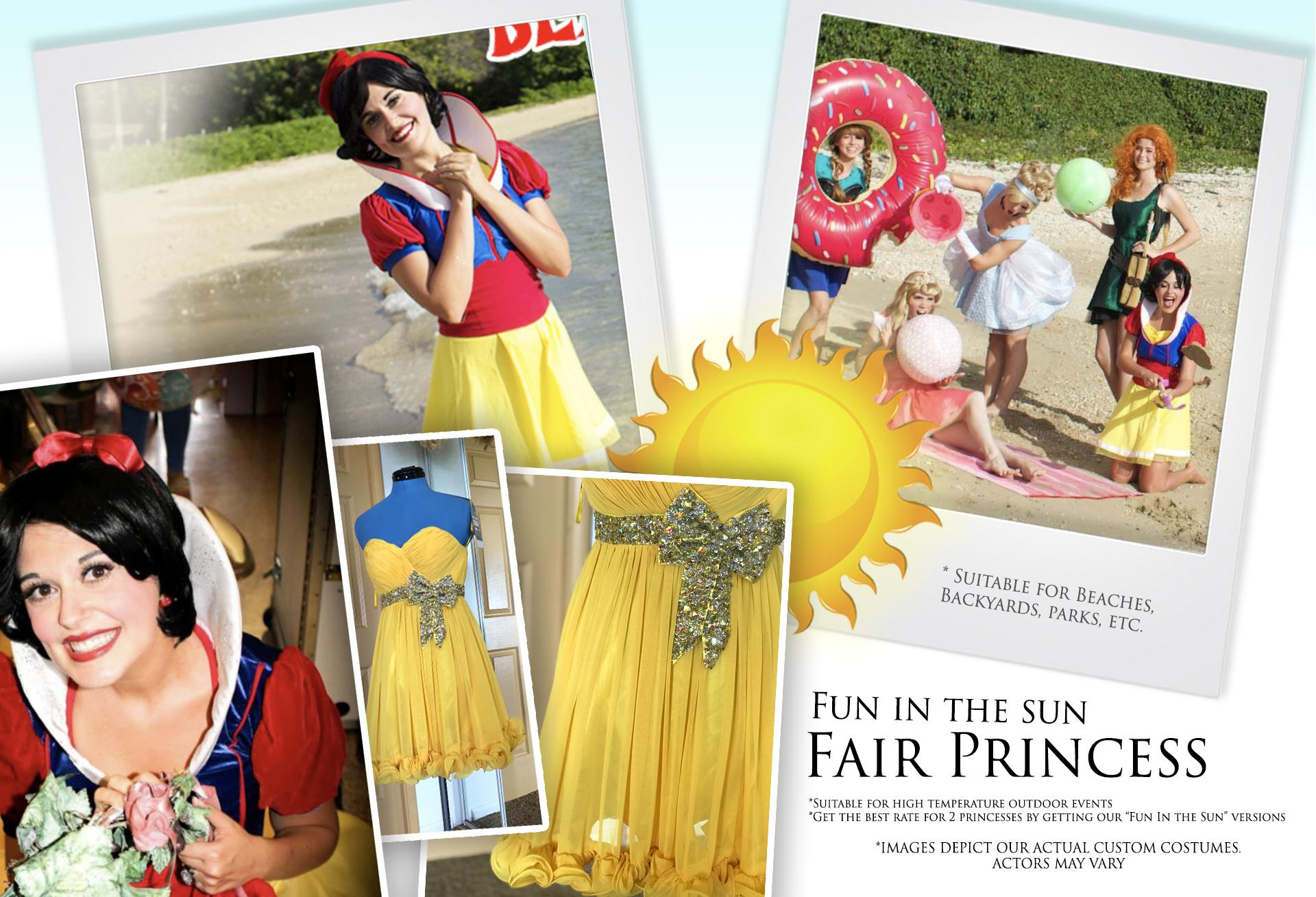 Fun in the Sun Fair Princess