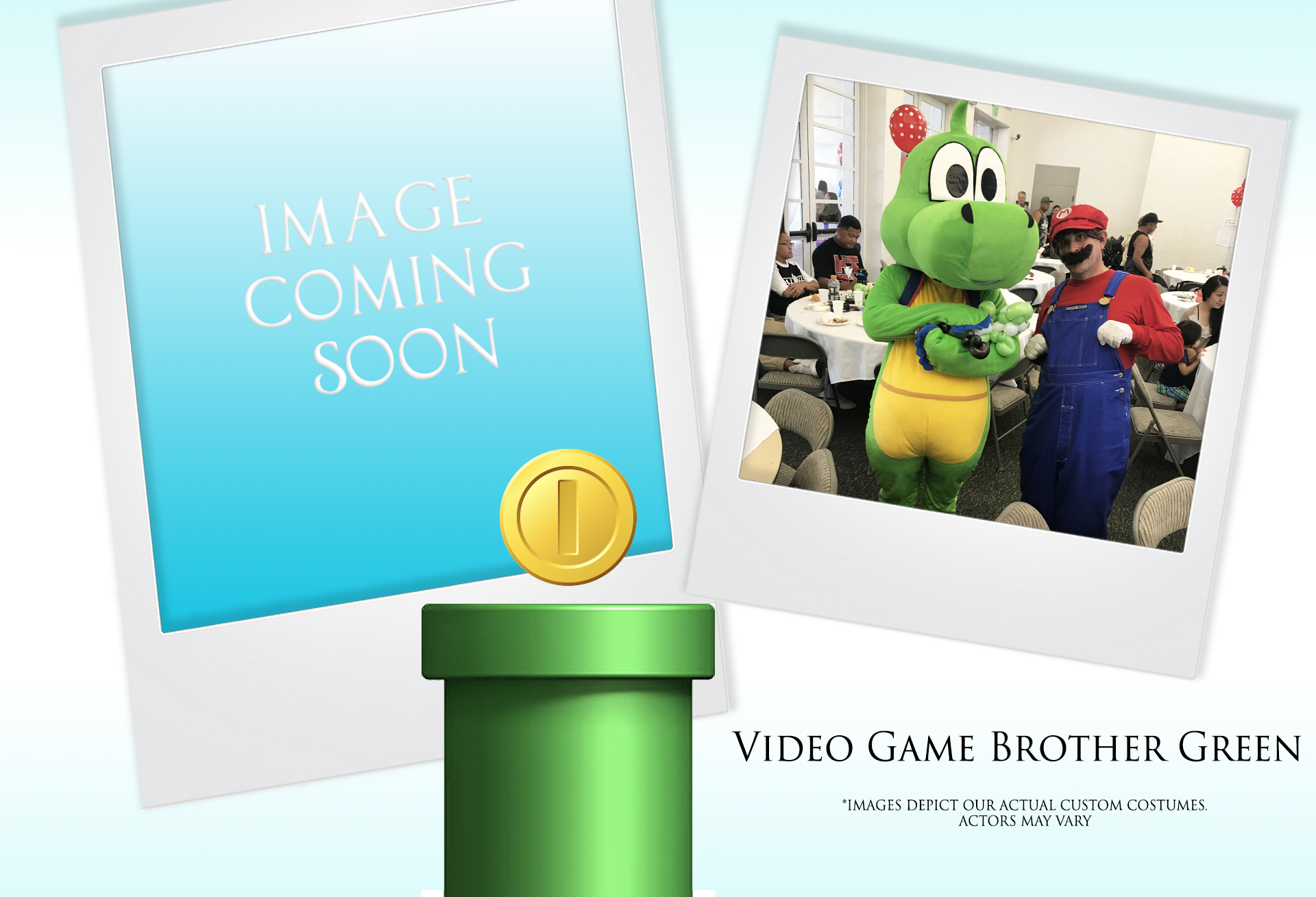 Video Game Brother Green