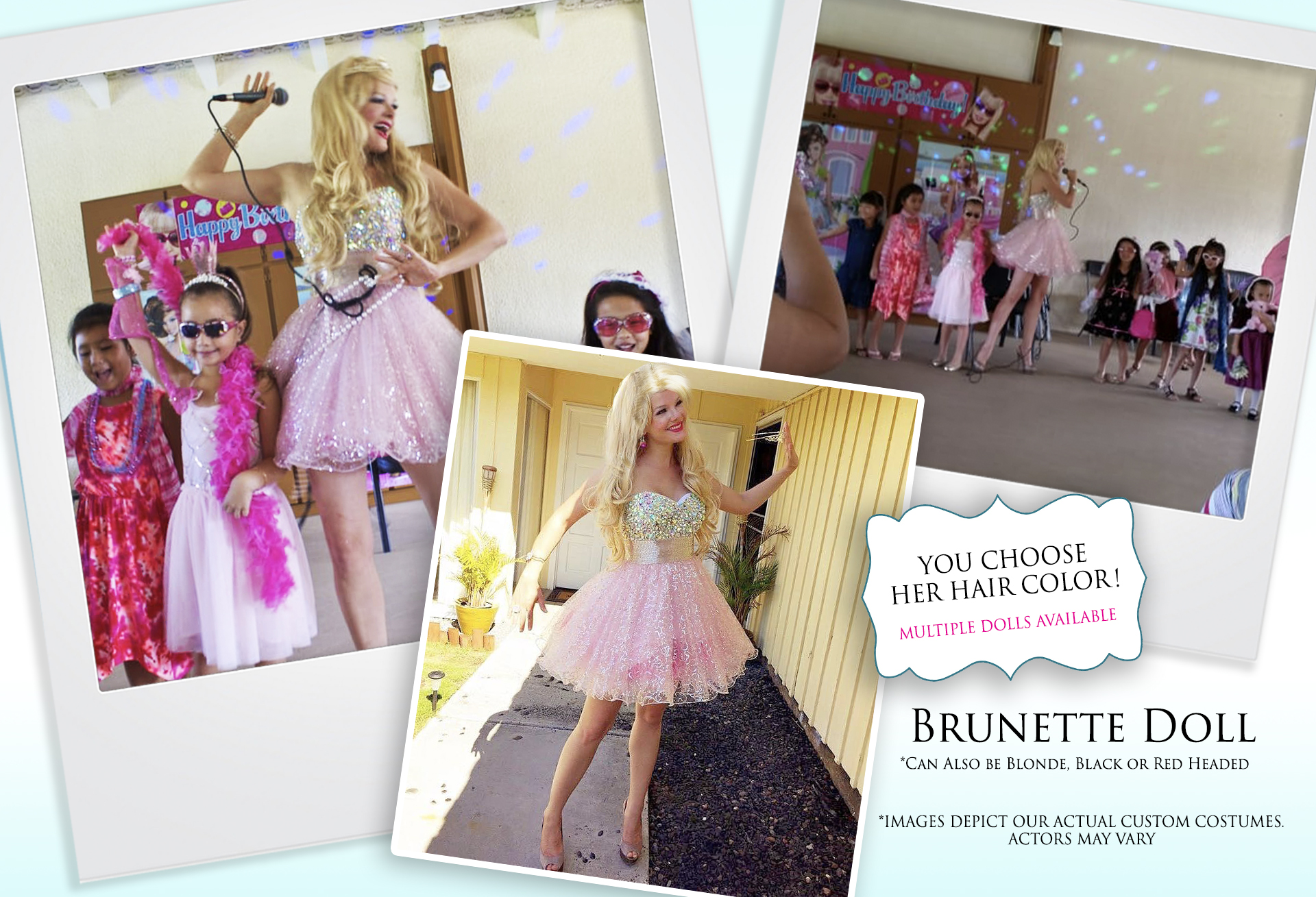 Brunette Doll
