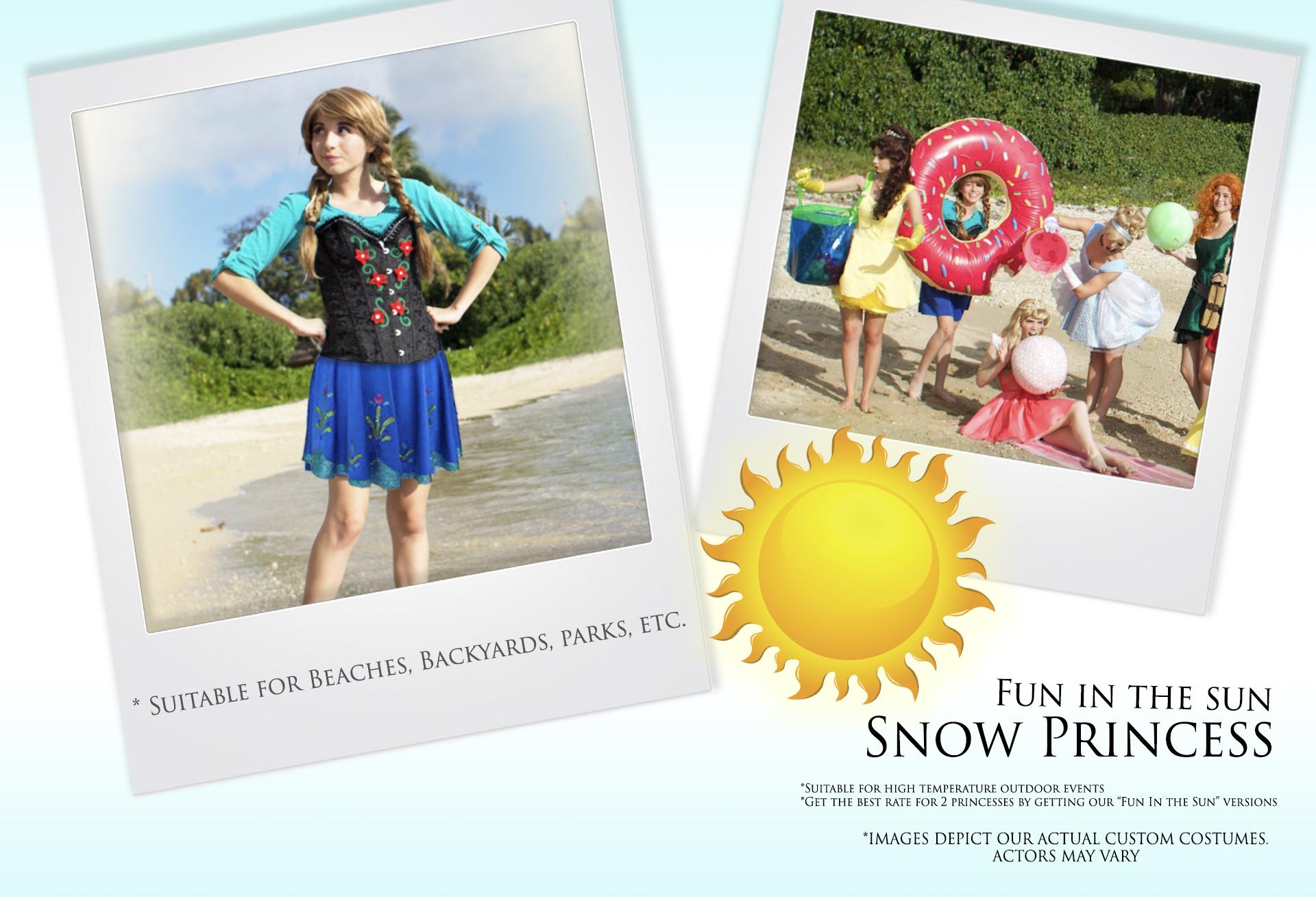 Fun in the Sun Snow Princess