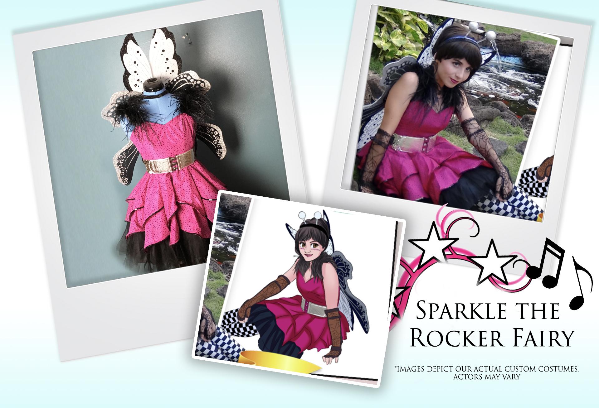 Sparkle the Rocker Fairy