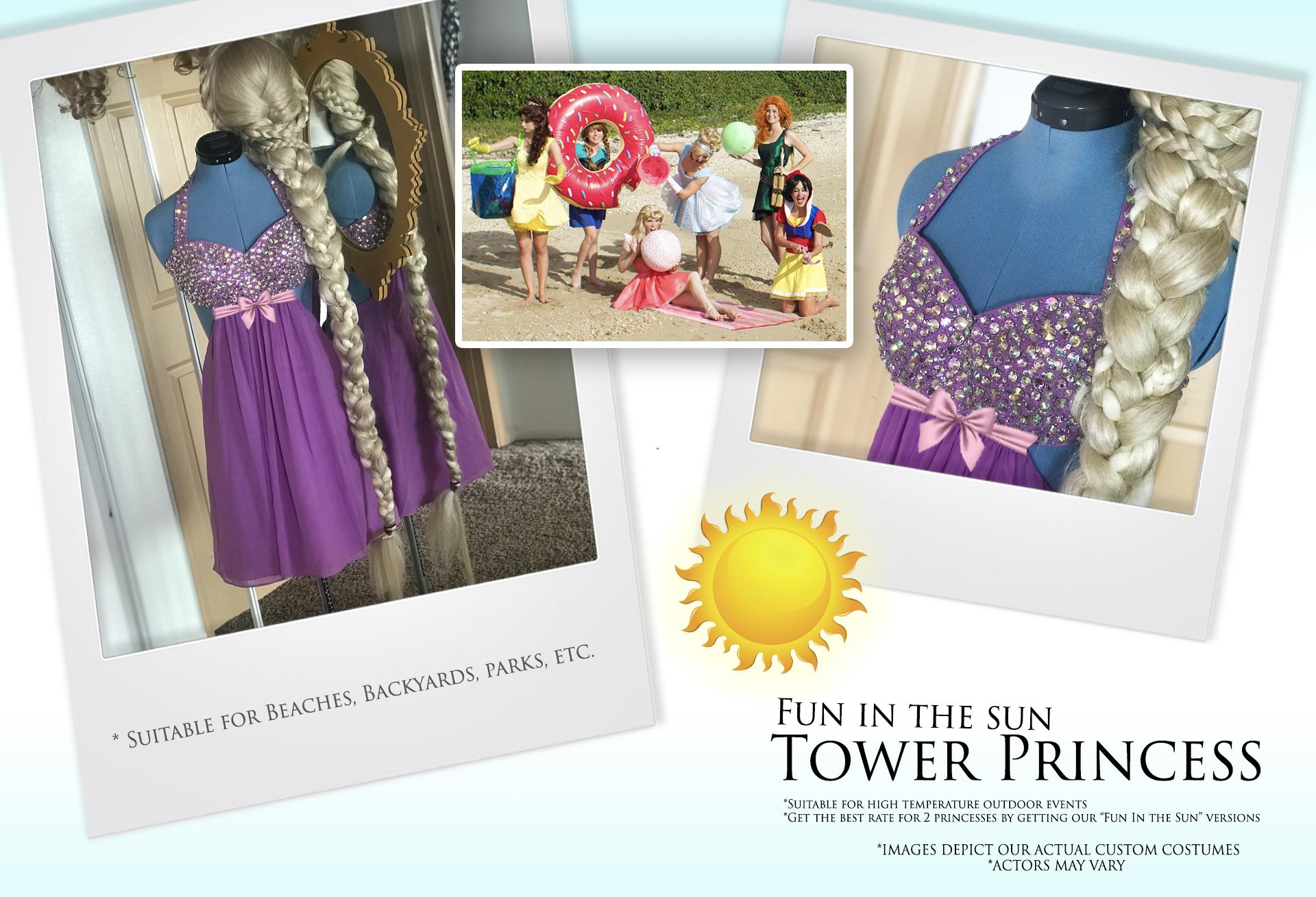 Fun in the Sun Tower Princess