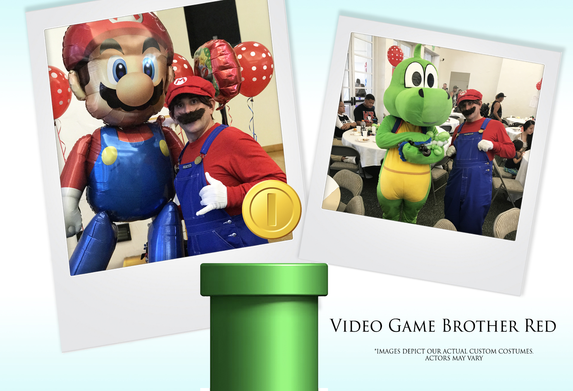 Video Game Brother Red