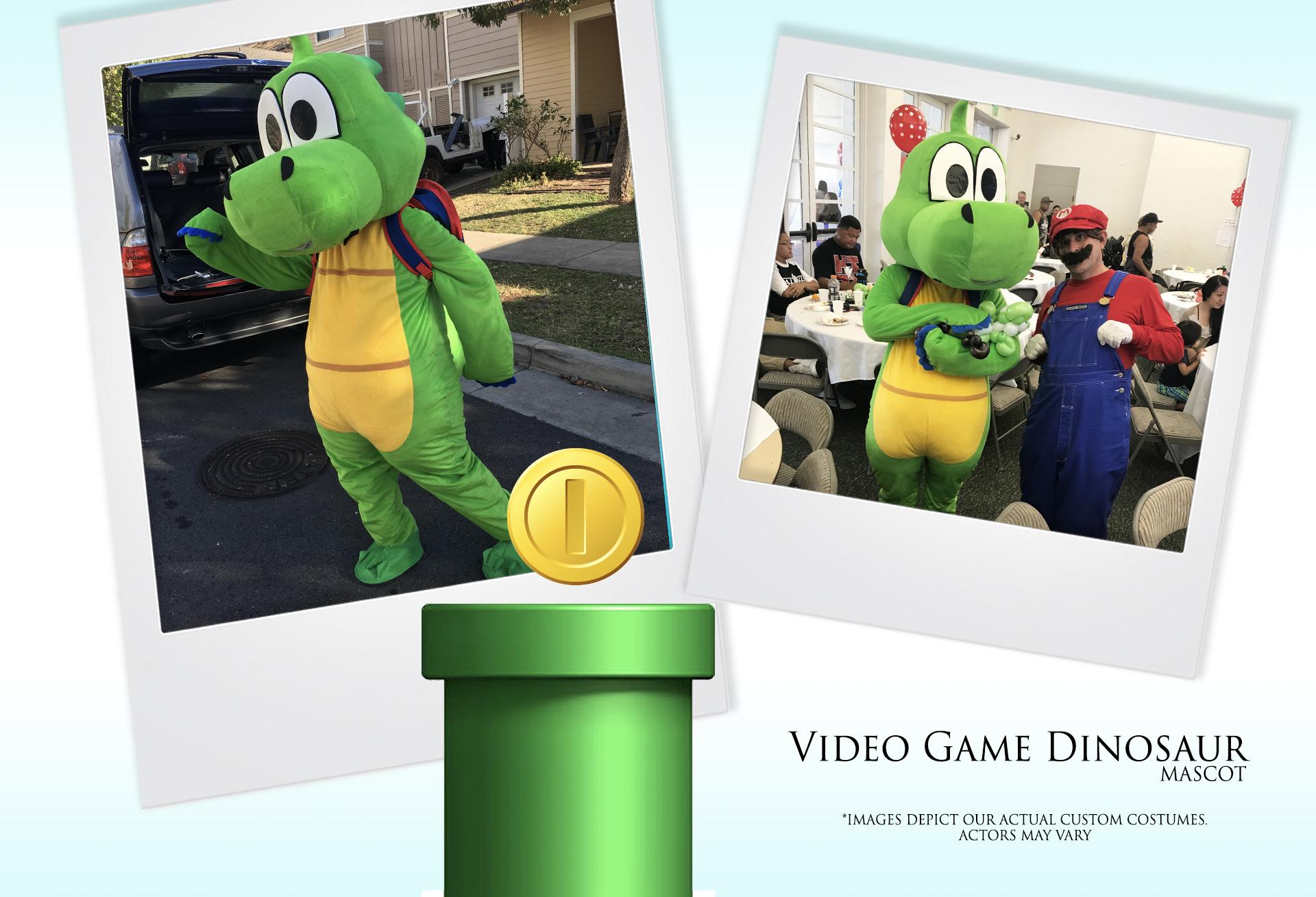 Video Game Dinosaur