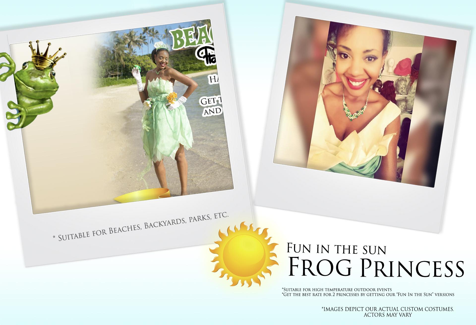Fun in the Sun Frog Princess