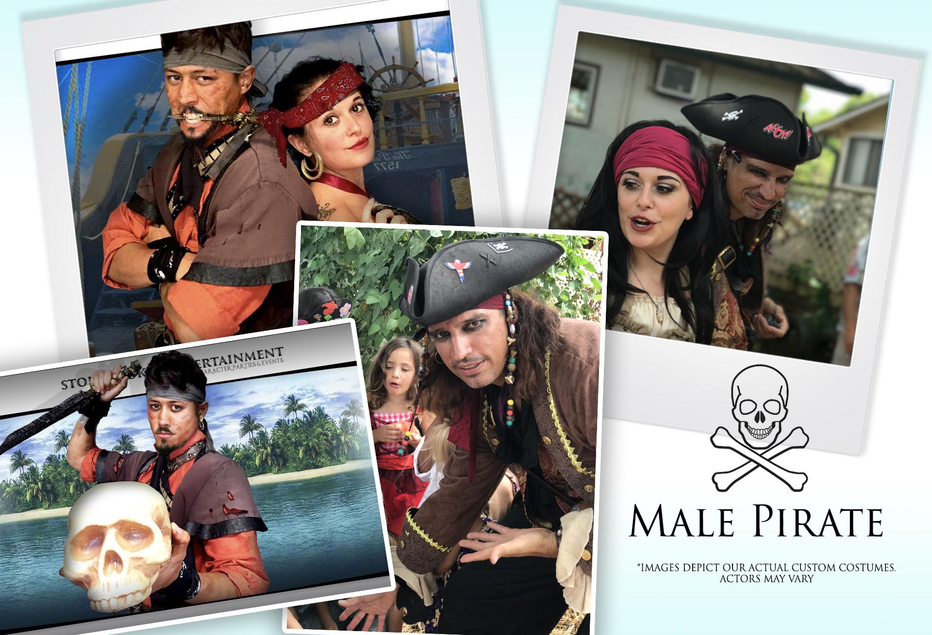 Male Pirate
