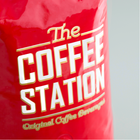 Coffee Station  Chain New Branding