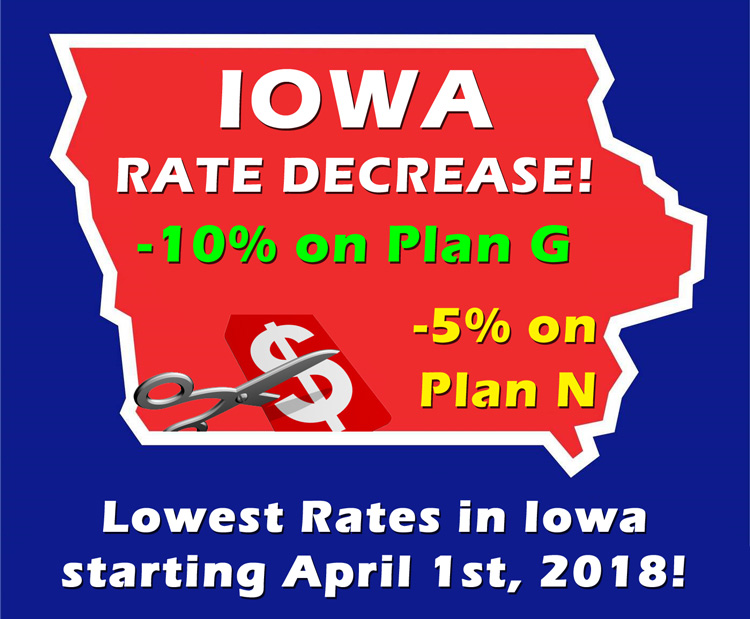 Western Marketing - Iowa Medicare Supplement Rate Decrease!