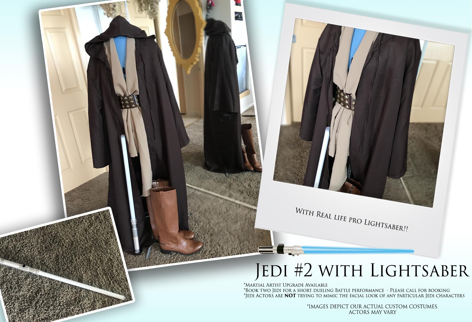 Light Saber Jedi #2