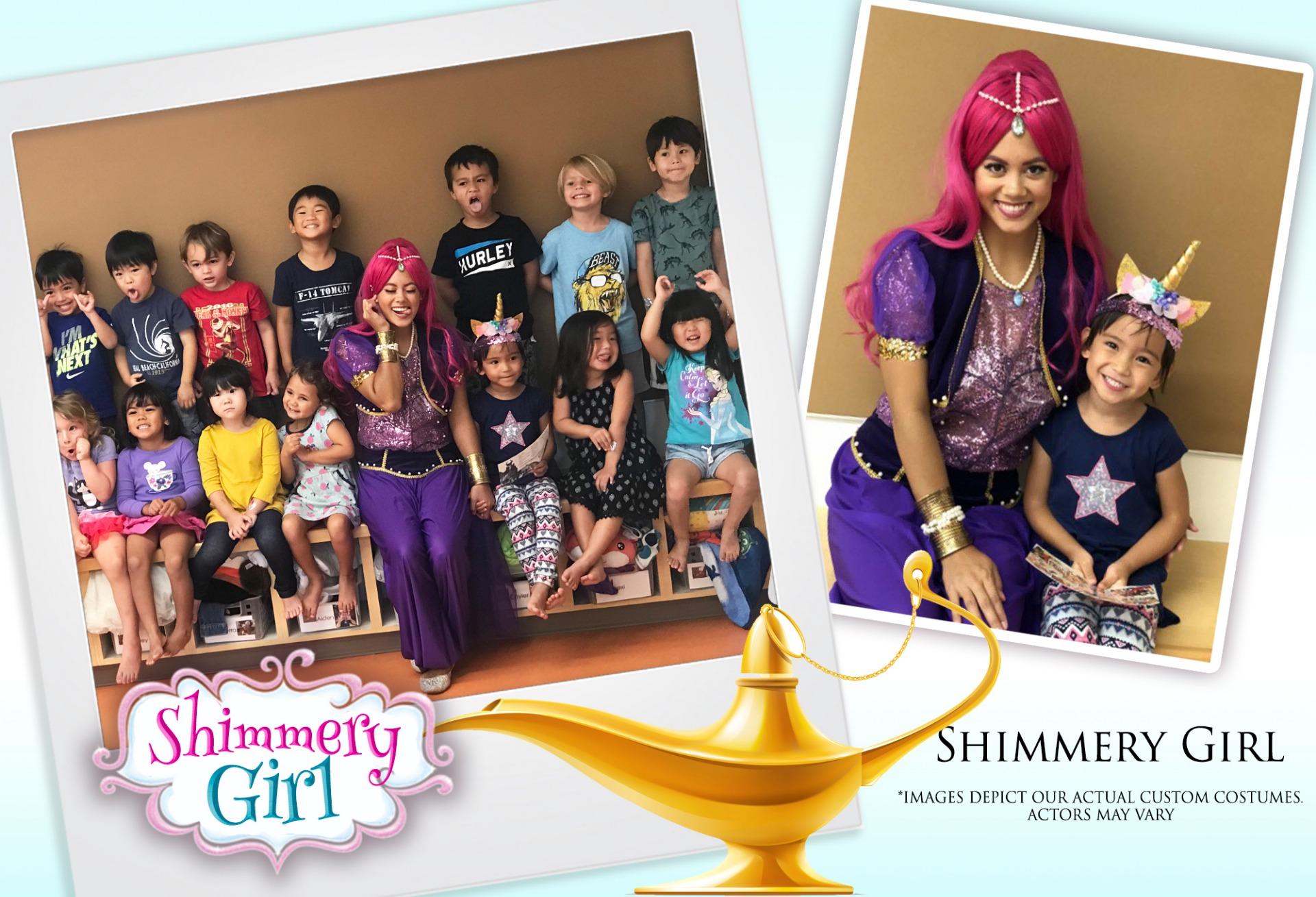 Shimmery Girl