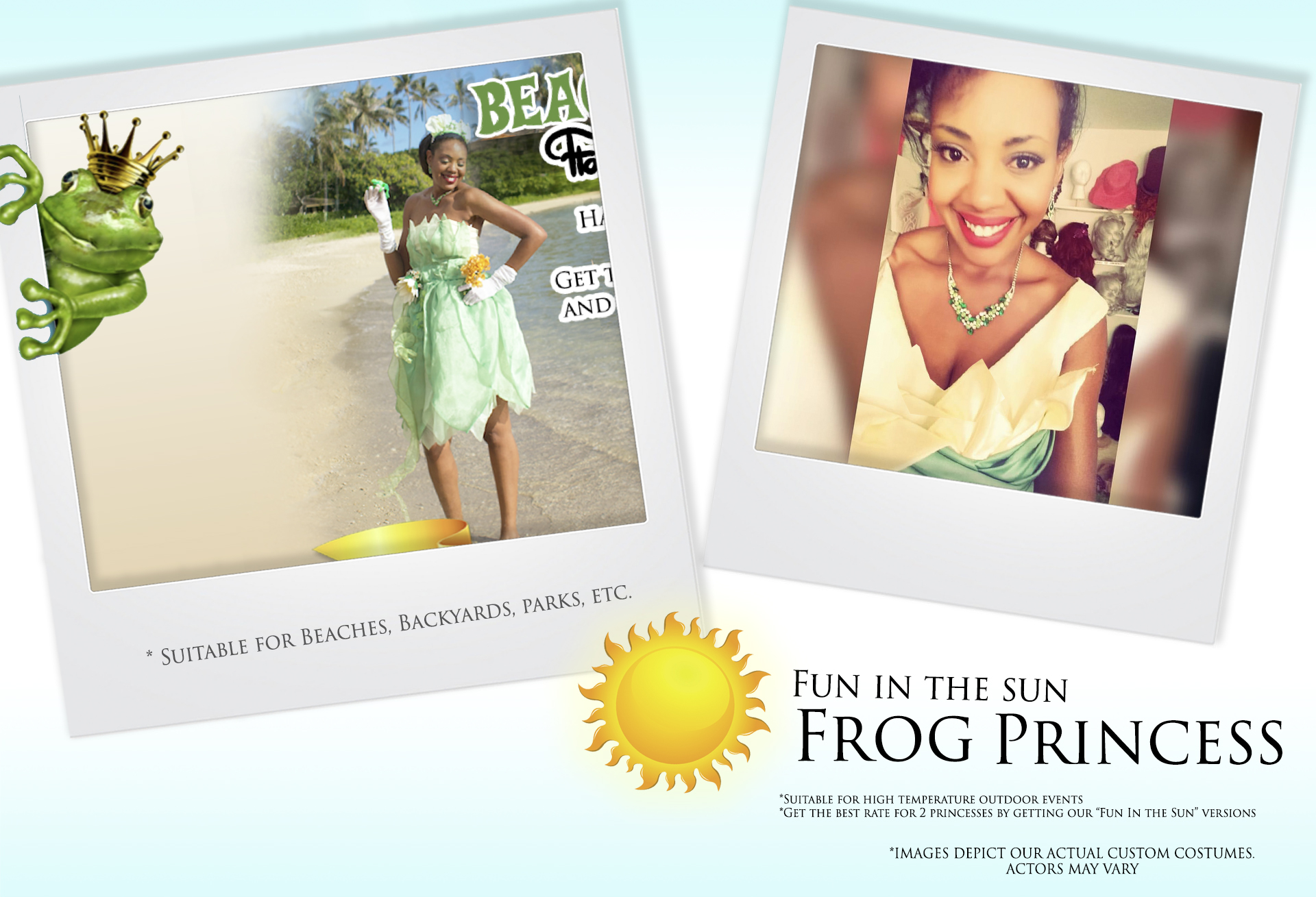 Fun in the Sun Frog Princess