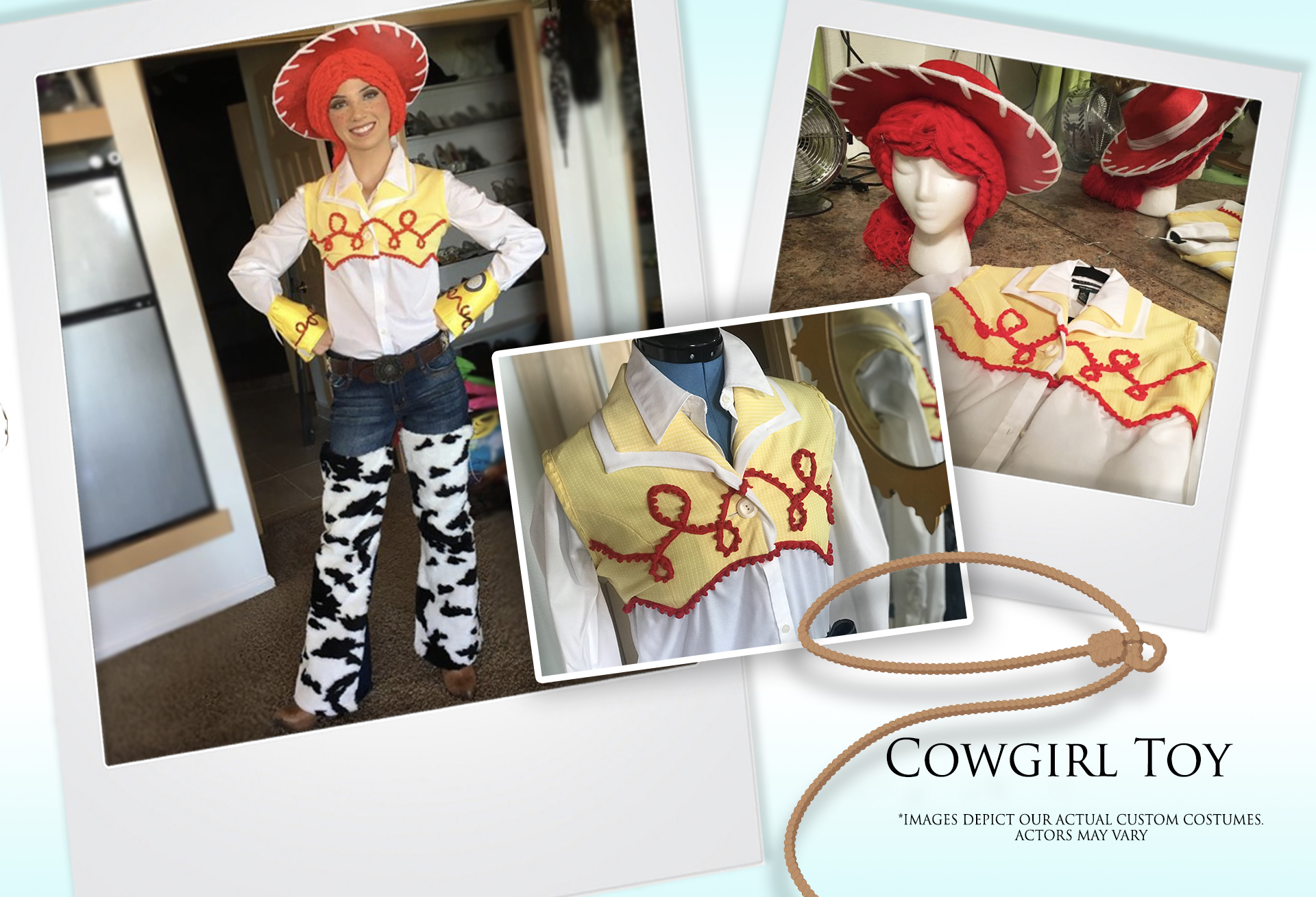 Cowgirl Toy