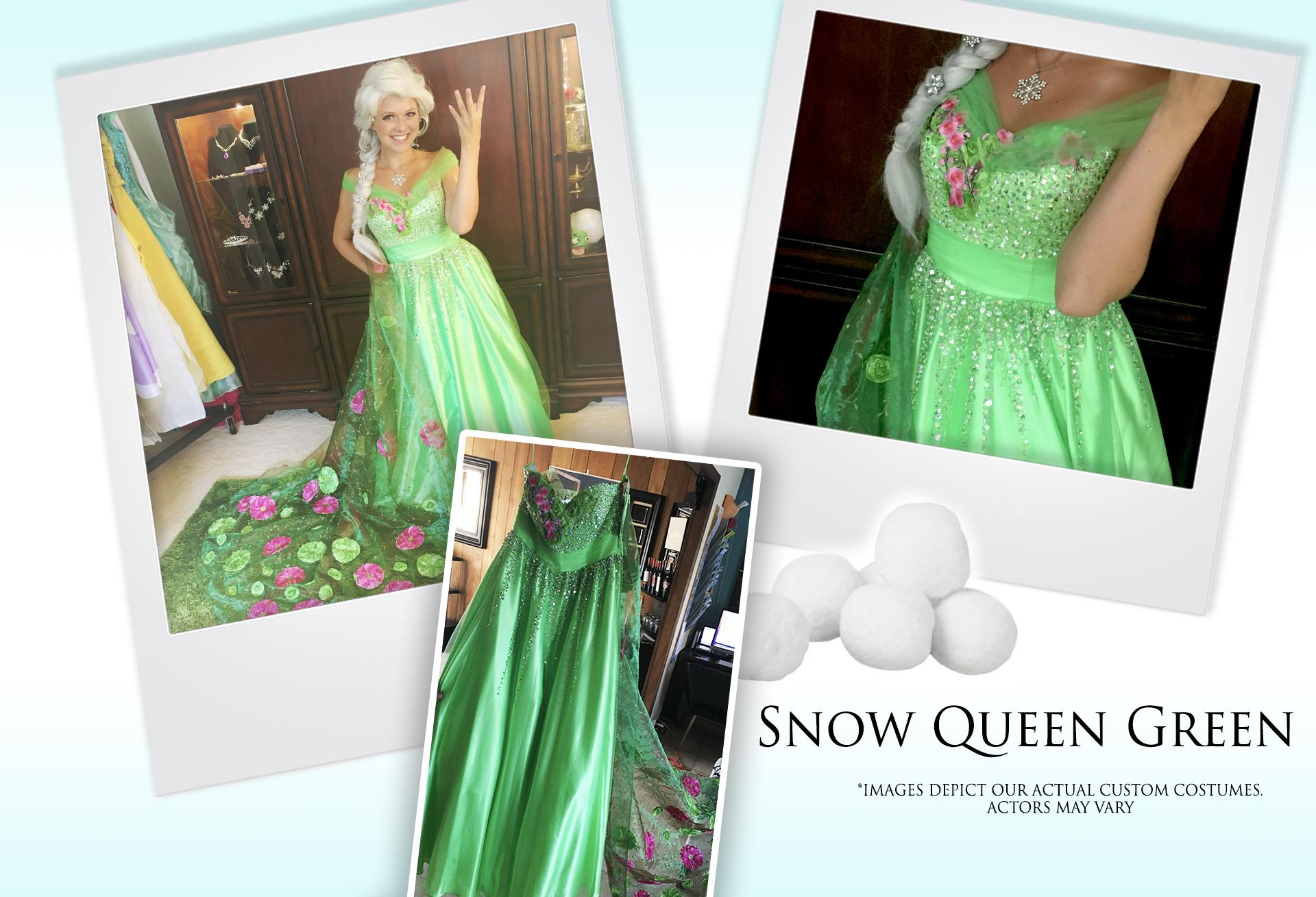 Snow Queen Green