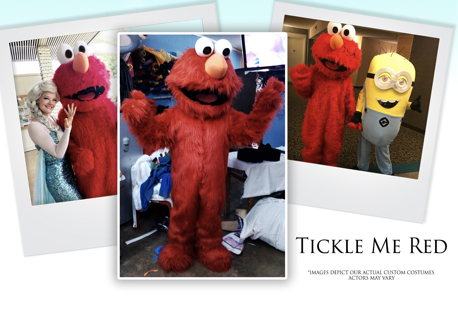 Tickle Me Red