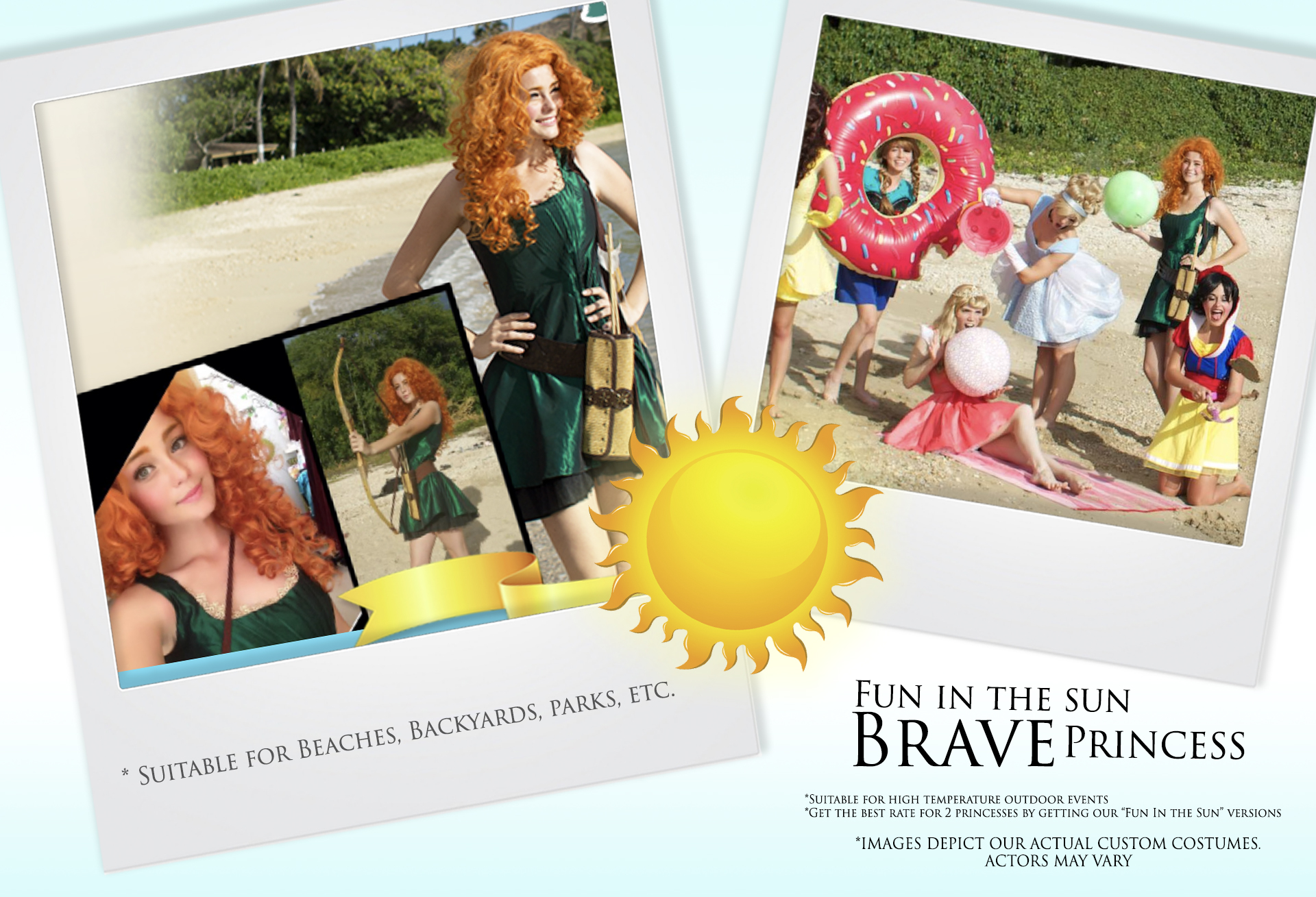 Fun in the Sun Brave Princess